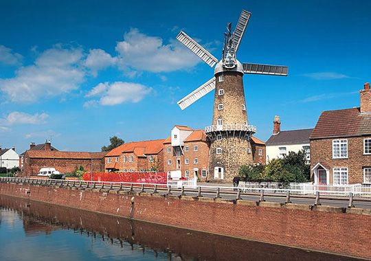 Windmills and Watermills to visit in Lincolnshire