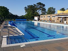 Jubilee Park Swimming Pool, Woodhall Spa